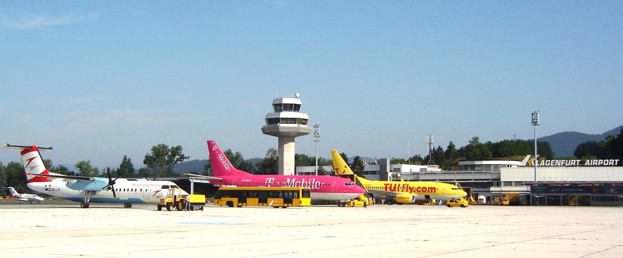 Abflug Klagenfurt