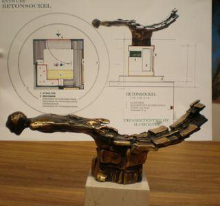 GR-Sitzung Skulptur