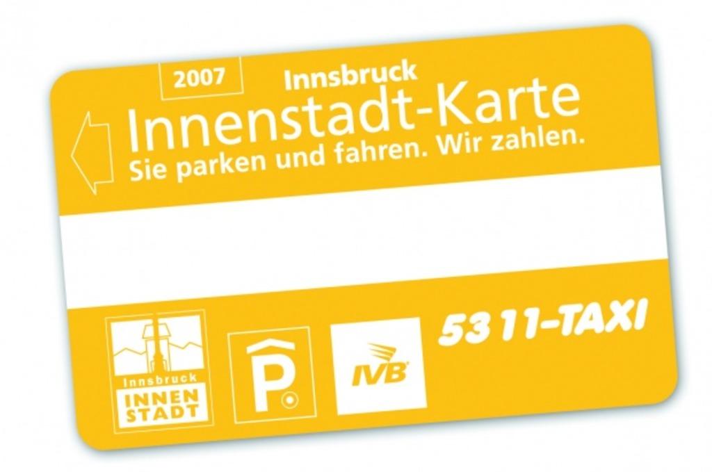InnenstadtParkkarte