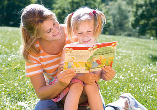 Vor allem Kinder sollen darauf aufmerksam gemacht werden, dass Lesen immer noch ein Abenteuer im Kopf ist.