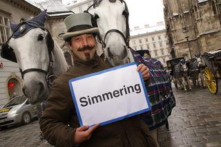 Fiakerbaron Wolfgang Fasching ist das Gesicht aus Simmering.