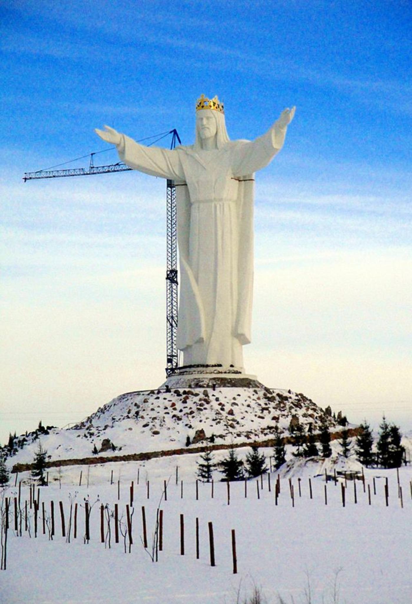 Christusstatue Polen