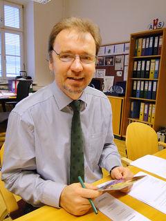 Gottfried Walter, Geschäftsstellenleiter des AMS  Gleisdorf.