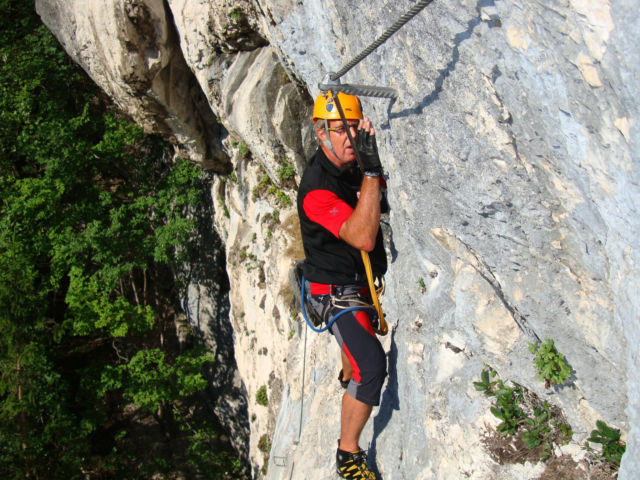 Klettersteig Bandschlinge : Klettersteig am türkenkopf völkermarkt