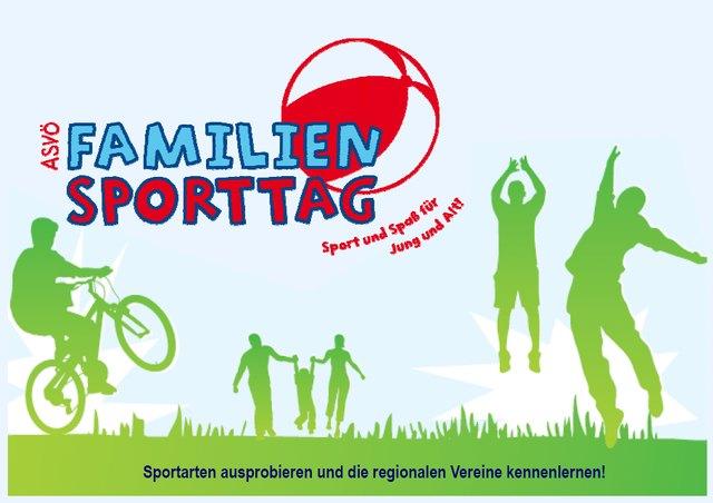 ASV N Familiensporttag am 11. 9. in Weitra - Sportarten