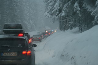 Vor dem Schneechaos wird eindringlich gewarnt