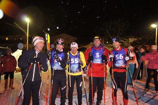 Prominente Unterstützung gab es von Günther Mader, Mario Stecher, Ernst Vettori, Markus Prock und Willi Denifl