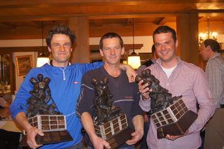 Gesamtsieger und Sieger in der allgemeinen Klasse: Florian Steirer, Siggi Steirer und Christof Duracher