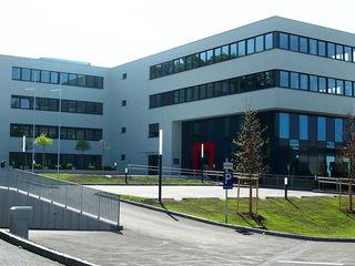 Das neue Vöcklabrucker Finanzamtsgebäude.