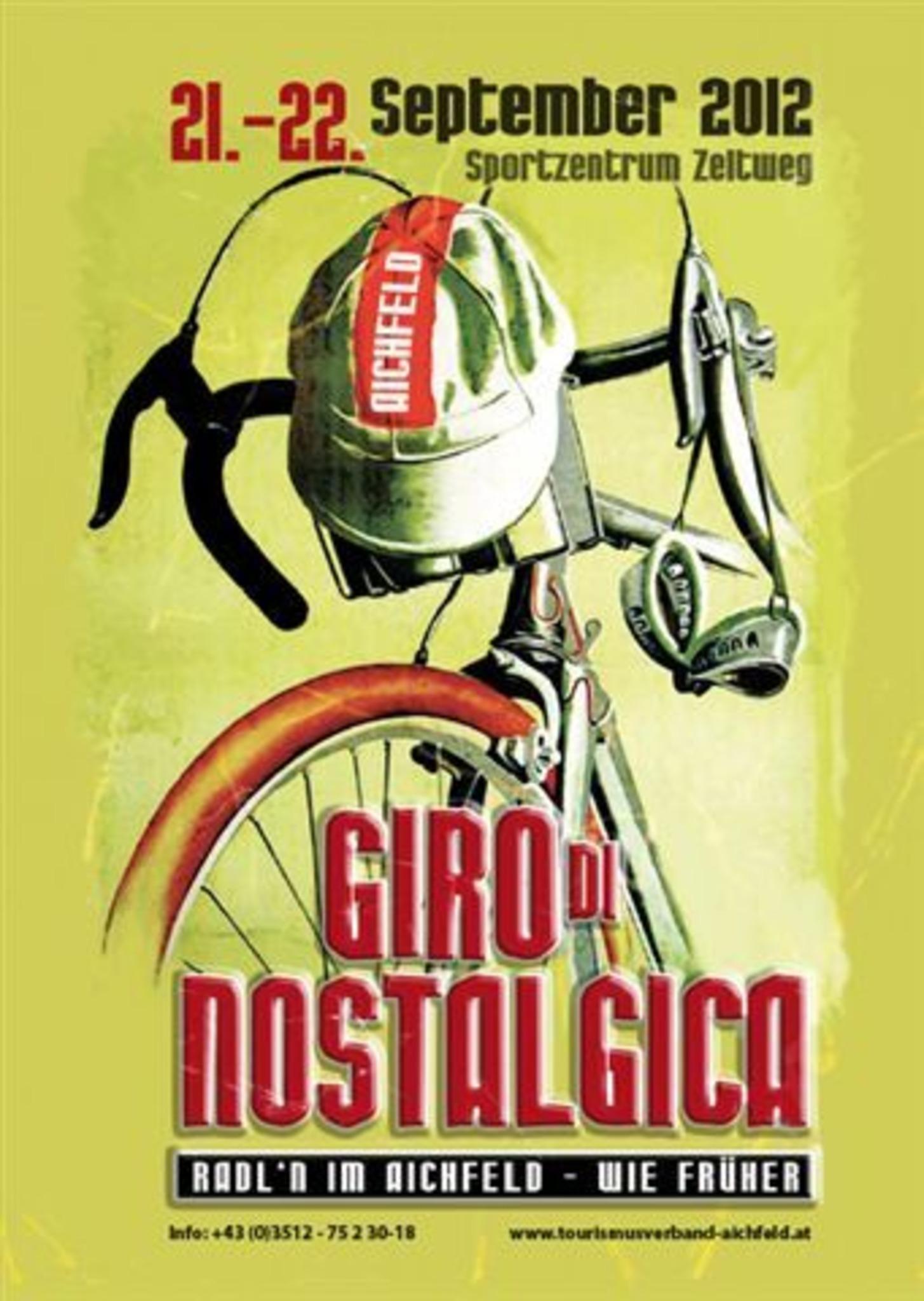GIRO di NOSTALGICA Radfahren wie früher und in der Zukunft