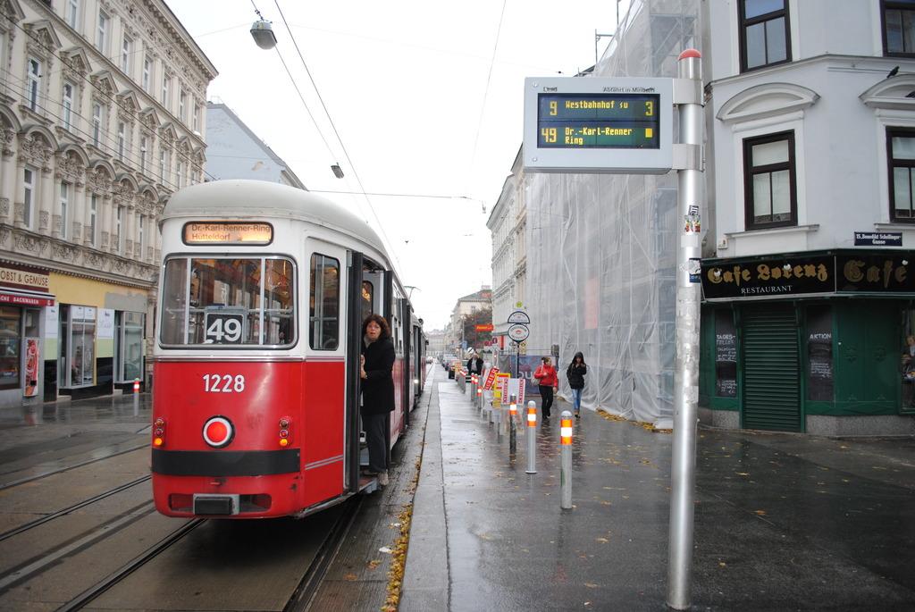 Linie 49 Ist Wiener Vorzeige öffi Rudolfsheim Fünfhaus