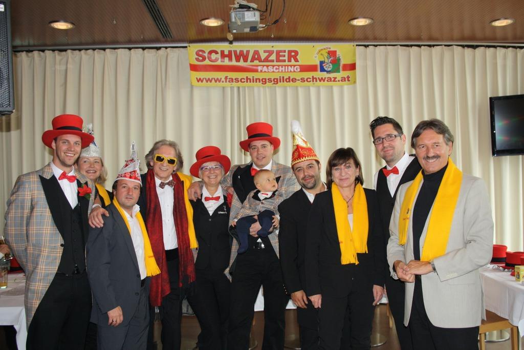 Neuer Dorfchef Im Fasching Schwaz