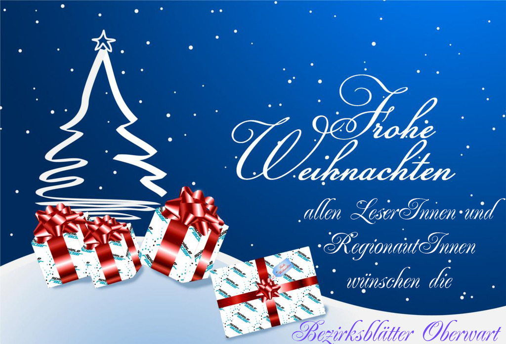 Frohe Weihnachten Besinnliche Feiertage.Frohe Weihnachten Und Besinnliche Feiertage Allen Regionautinnen Und