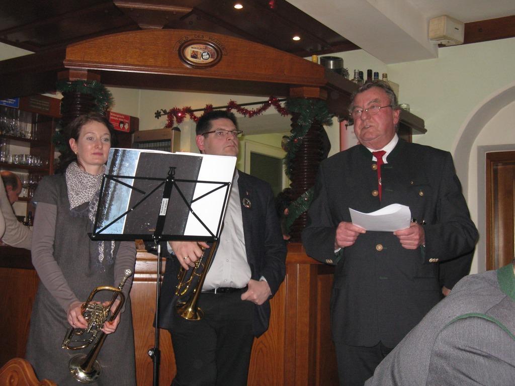 Ansprache Weihnachtsfeier.Weihnachtsfeier Beim Kameradschaftsbund Og Wallern Grieskirchen