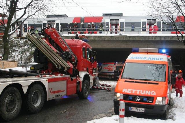 Zugunglück Wien