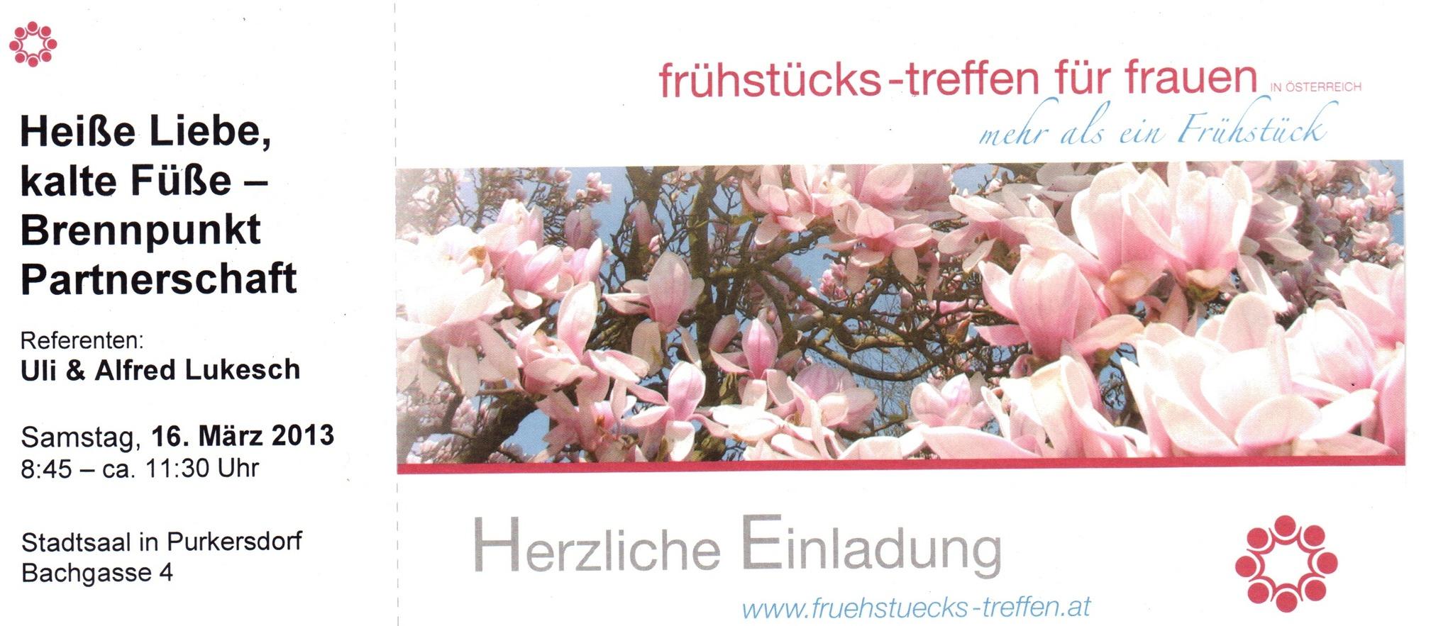 Frhstcks-Treffen fr Frauen: Sicher in unsicheren - recognition-software.com