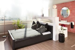 Ideen zur Kombination Schlafzimmer und Badezimmer ...