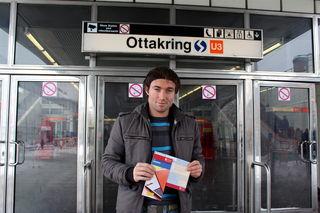 Joachim Kovacs verlost eine Jahreskarte von den Wiener Linien.