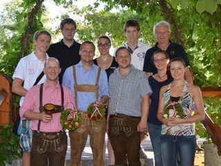 Oberösterreichs Armbrustschützenmannschaft