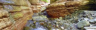 Die Ablagerungen im Davidgraben wurden in einem flachen Meeresbecken abgesetzt.