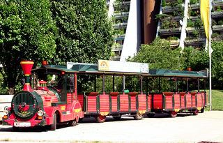 Liliputbahn beim Kinderfest
