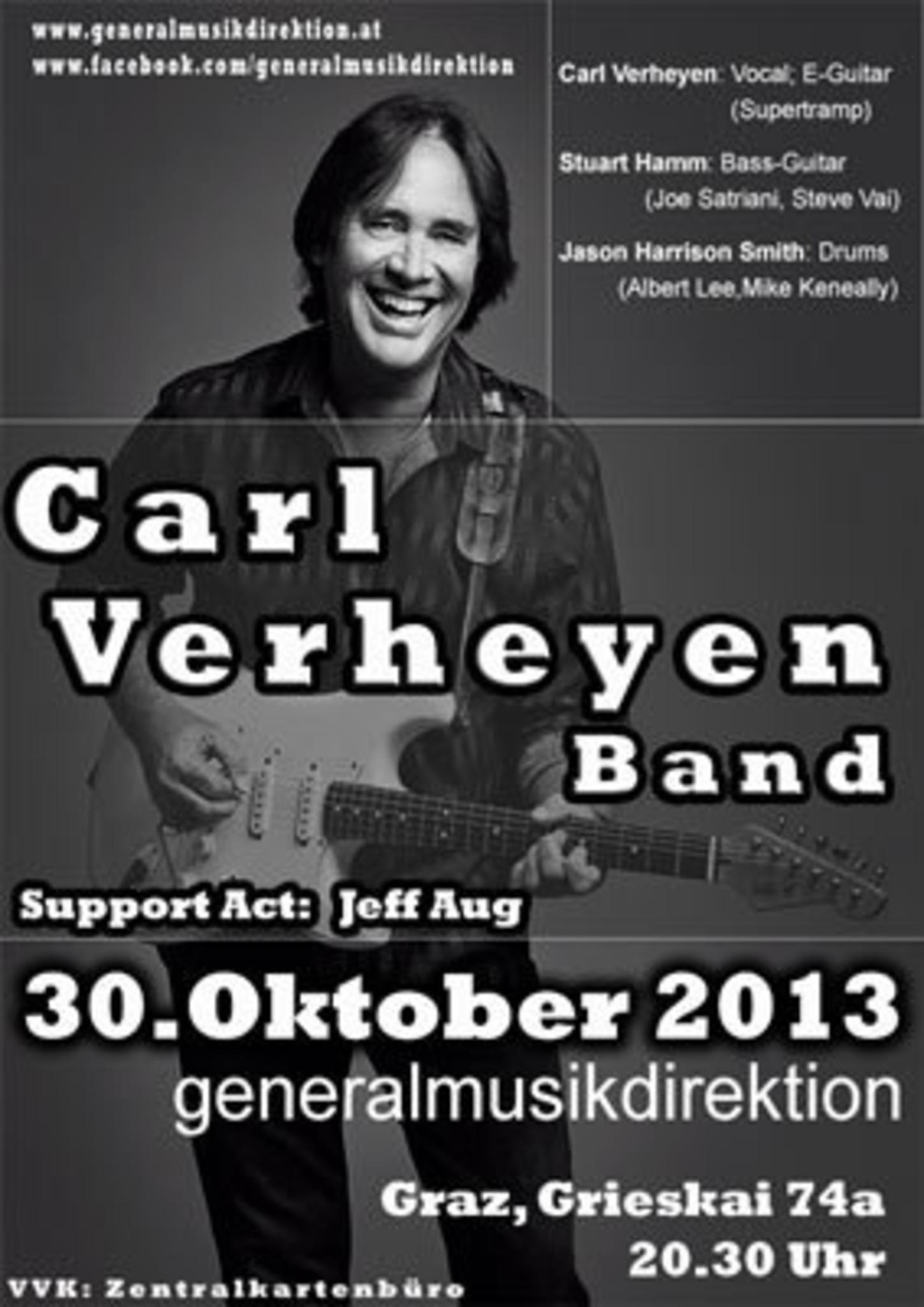 Carl Verheyen Band Live - Graz