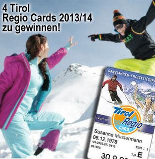 Der Winter kann kommen – mit der Regio Card stehen die Tore ur Freizeitwelt im Tiroler Oberland offen.