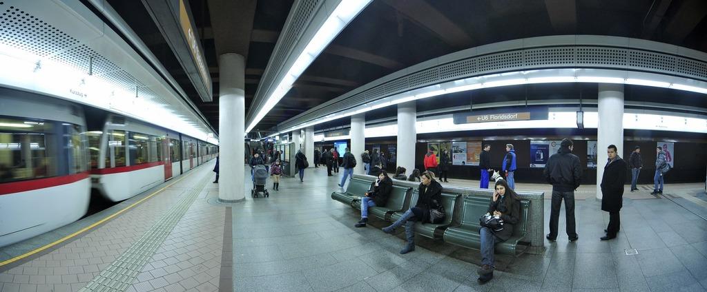 U6 Station Philadelphiabrücke Heißt Bahnhof Meidling Innere Stadt