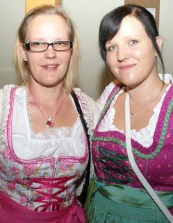 Carmen und Monika hatten viel Spaß