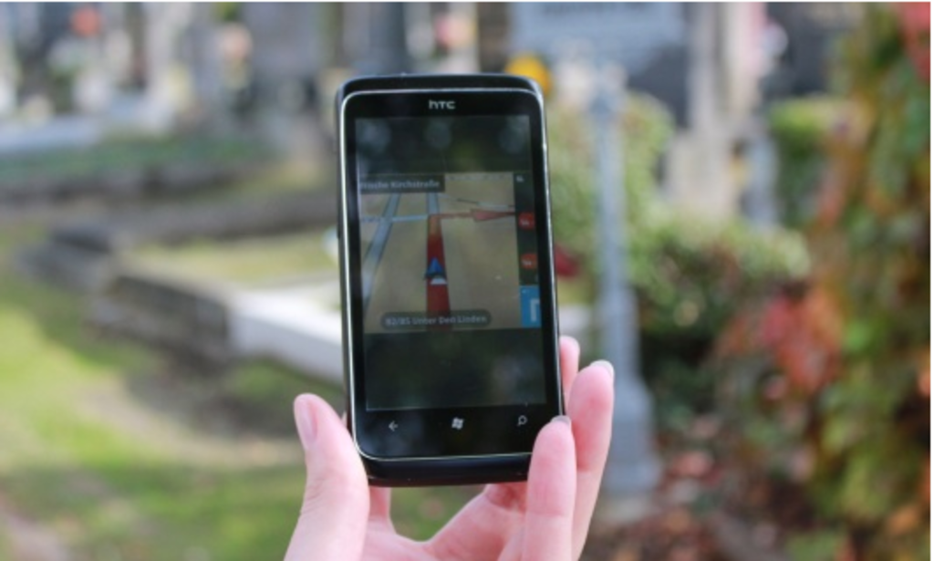 Friedhofs Navi Startet Erst 2014 Als App Innere Stadt