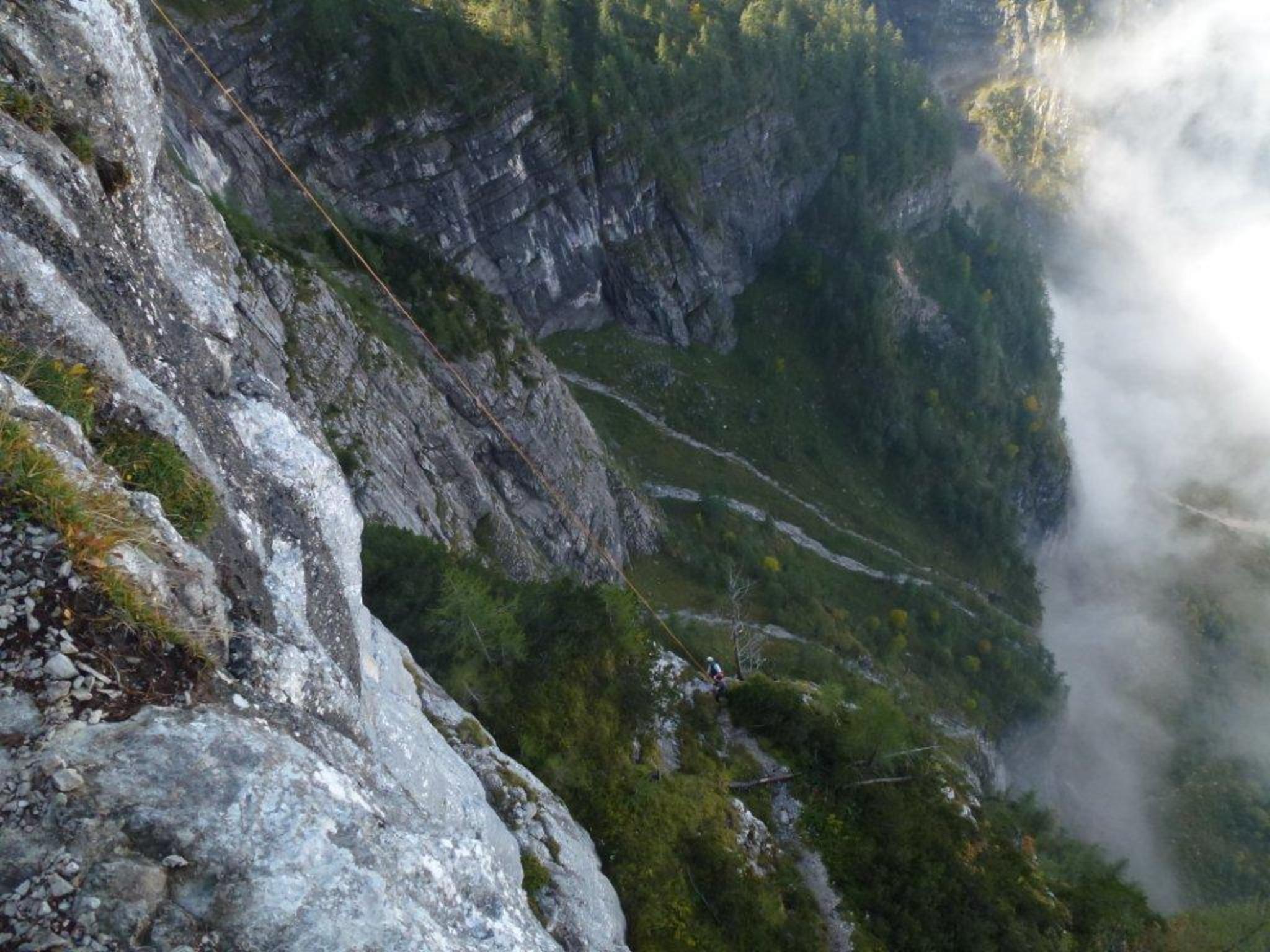 Klettersteig Seewand : Spektakuläre Übung im berüchtigten seewand klettersteig