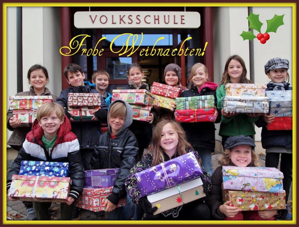 Geschenke der Hoffnung – Weihnachten im Schuhkarton - St. Pölten