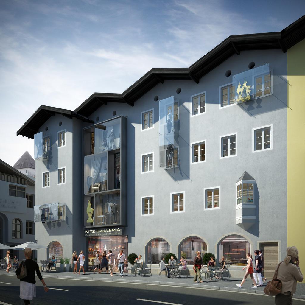 Die Kitz Galleria im Bereich Gries - auch als ein Tor zur Stadt. 0e7cdae74b