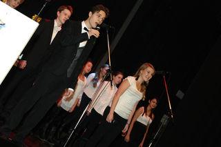 Schüler der Musical Company von der Musikschule Liesing