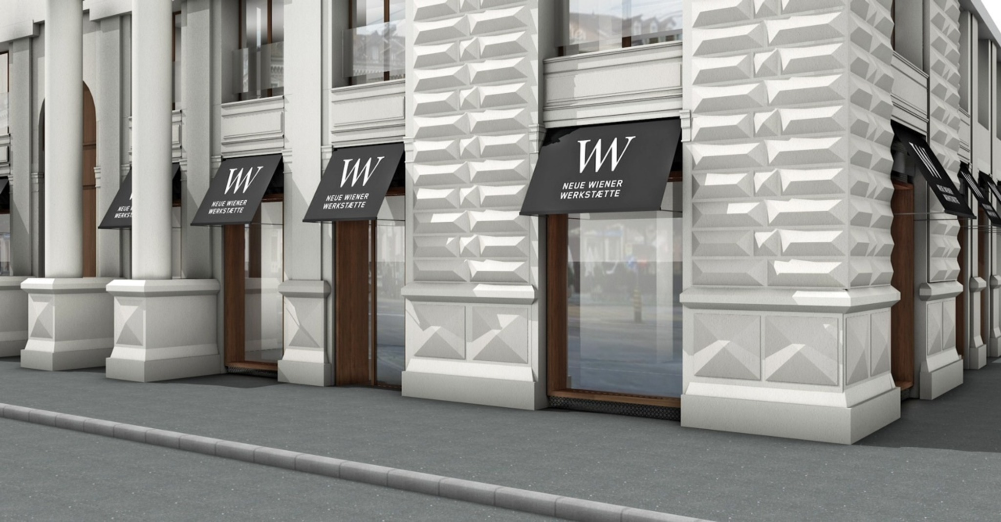 neue wiener werkst tte neuer showroom in wien hartberg f rstenfeld. Black Bedroom Furniture Sets. Home Design Ideas