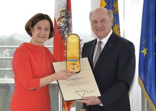 Johanna Mikl-Leitner (l.), Erwin Pröll.