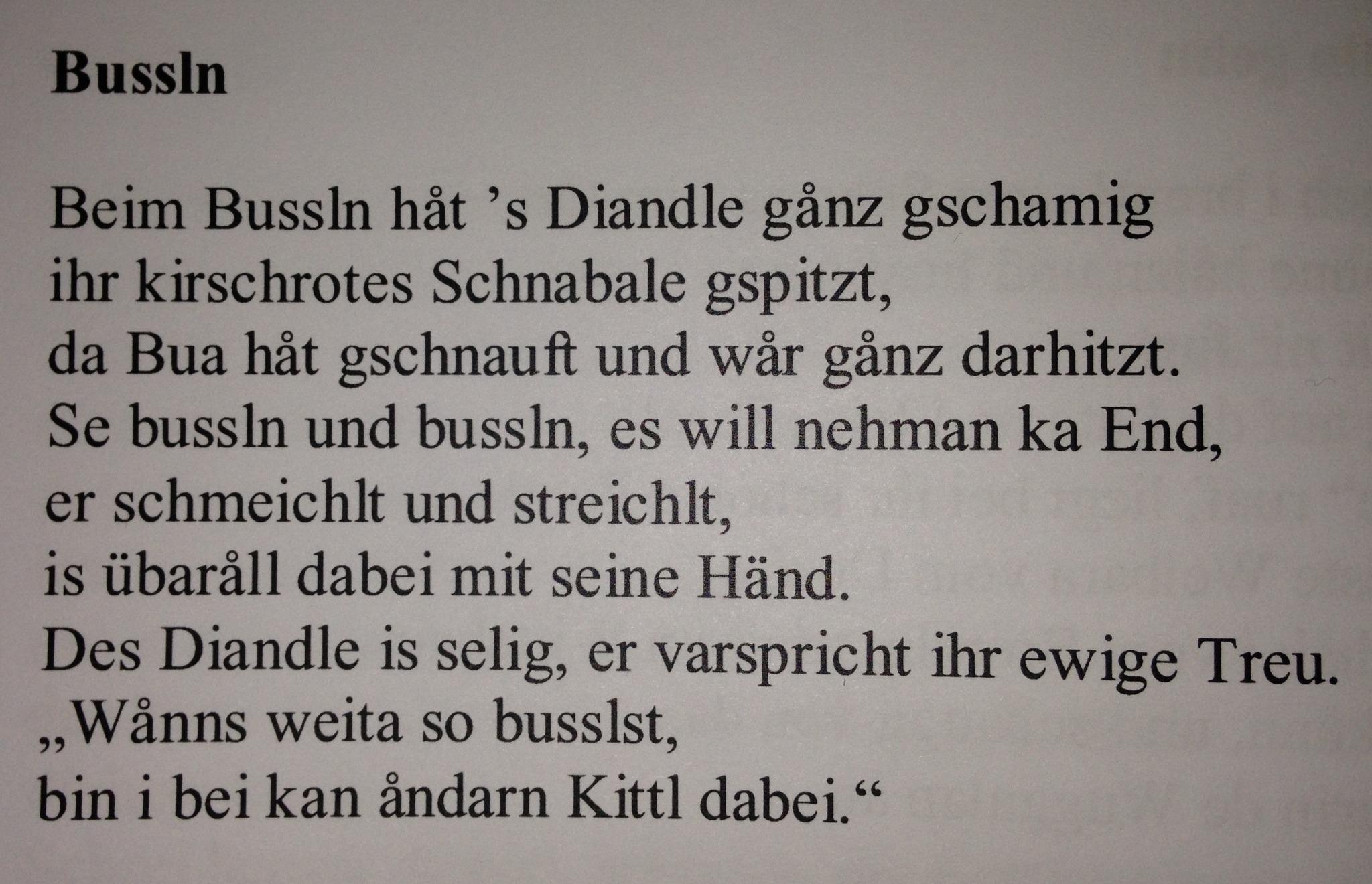 Gedichte Karntner Dialekt Neujahrsblog 2020