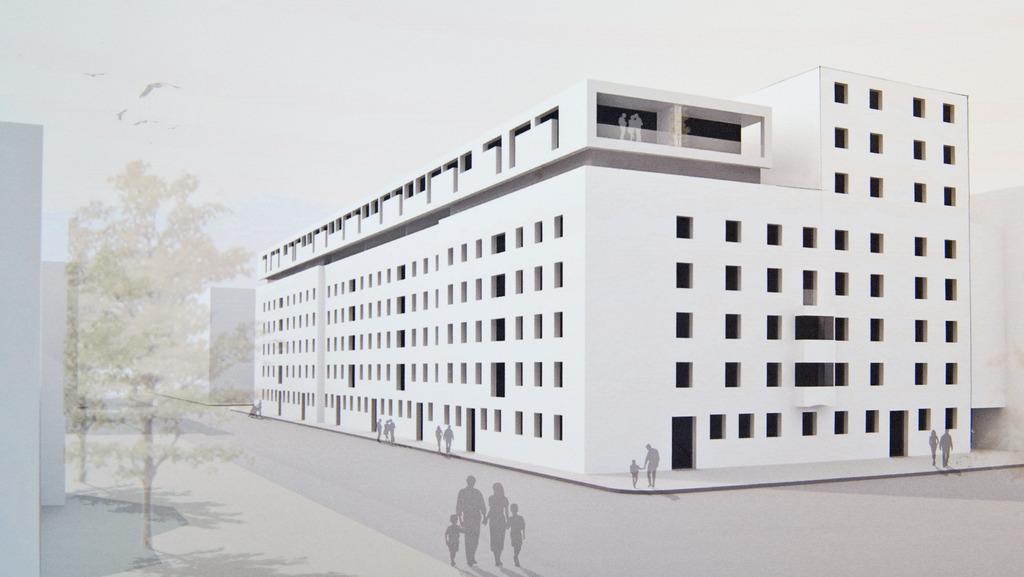 Brucknerstraße Nht Präsentiert Siegerprojekt Innsbruck
