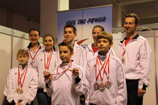 Das erfolgreiche Kumgang Power Team!
