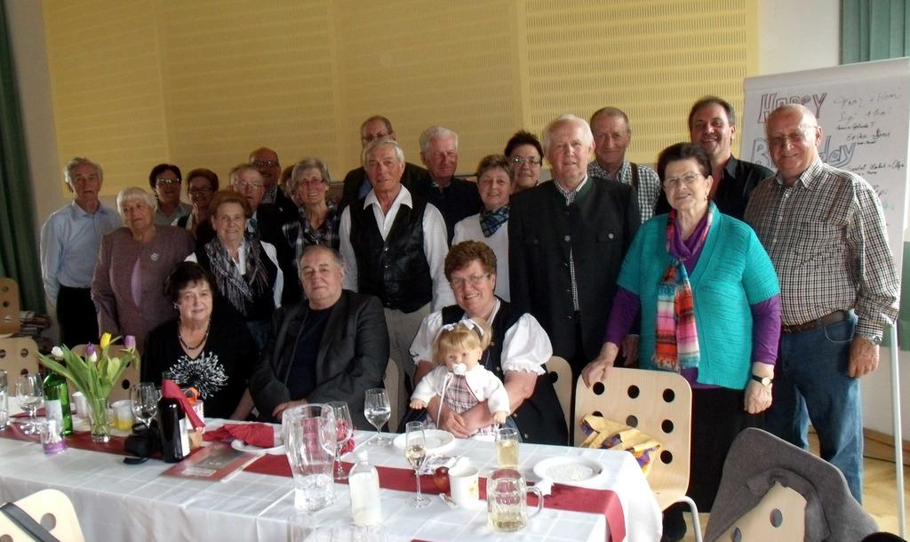 70 Geburtstag Von Oma Grete Leoben