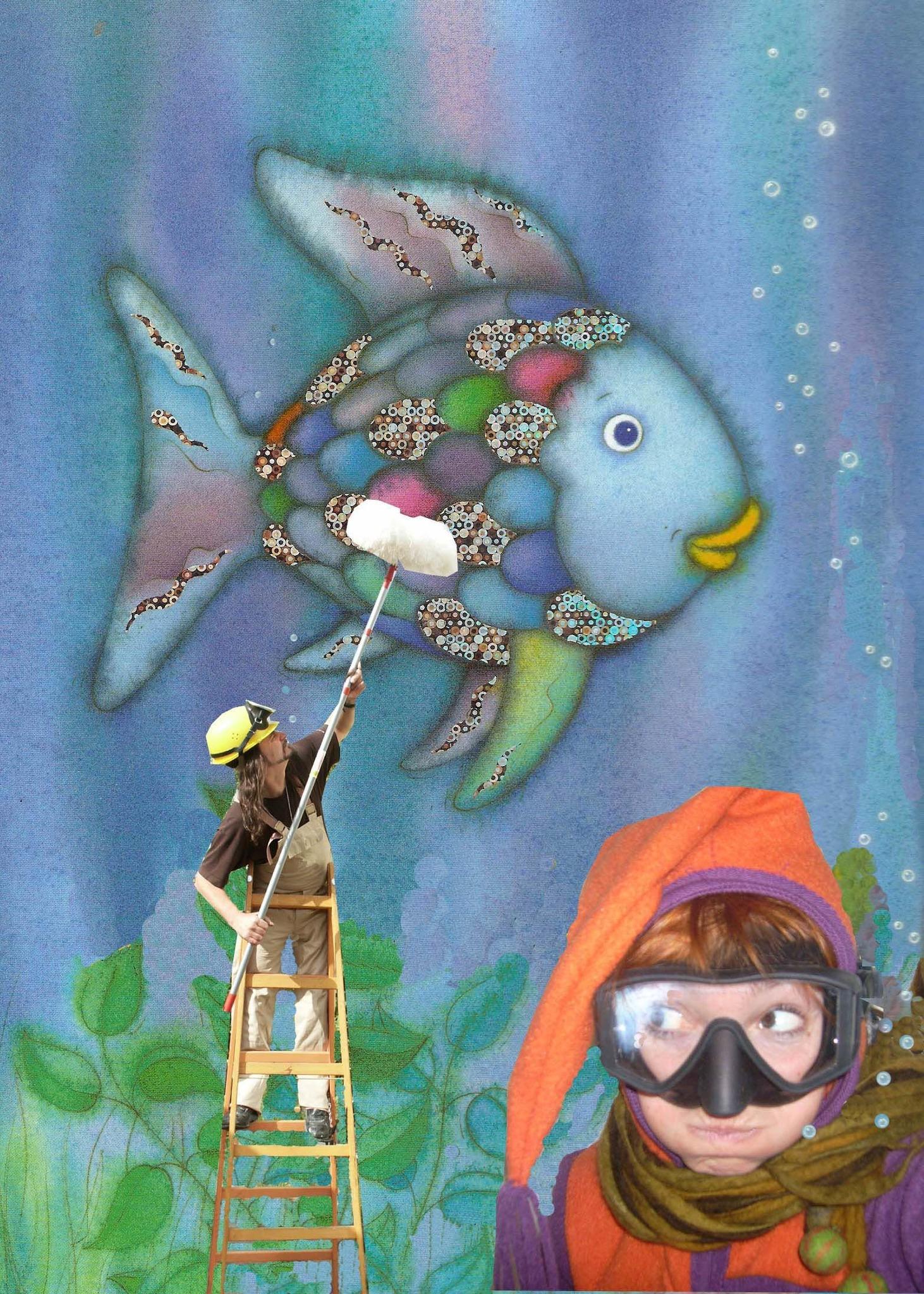 Der Regenbogenfisch Nach Dem Gleichnamigen Buch Von Marcus Pfister