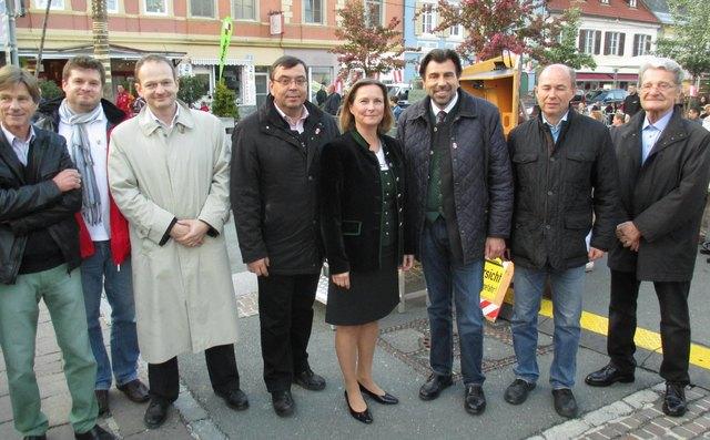 Treffen der Plattform Interssensgemeinschaft Harterwald