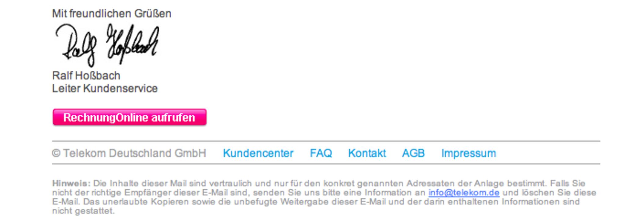 Vorsicht Vor Gefälschten Telefonrechnungen Neunkirchen
