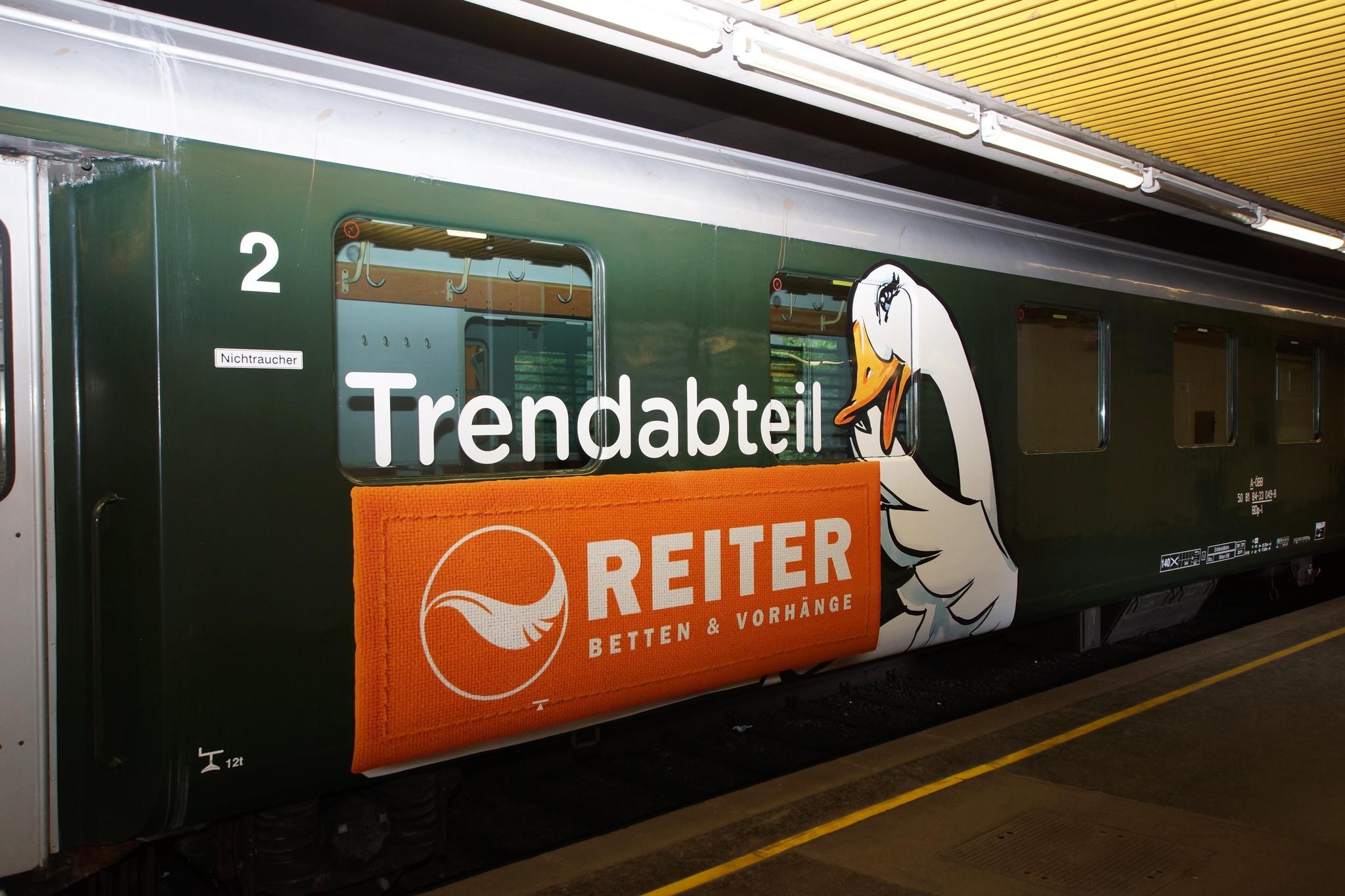 Trendabteil Rollt Seit 1 Mai Durch Osterreich Linz