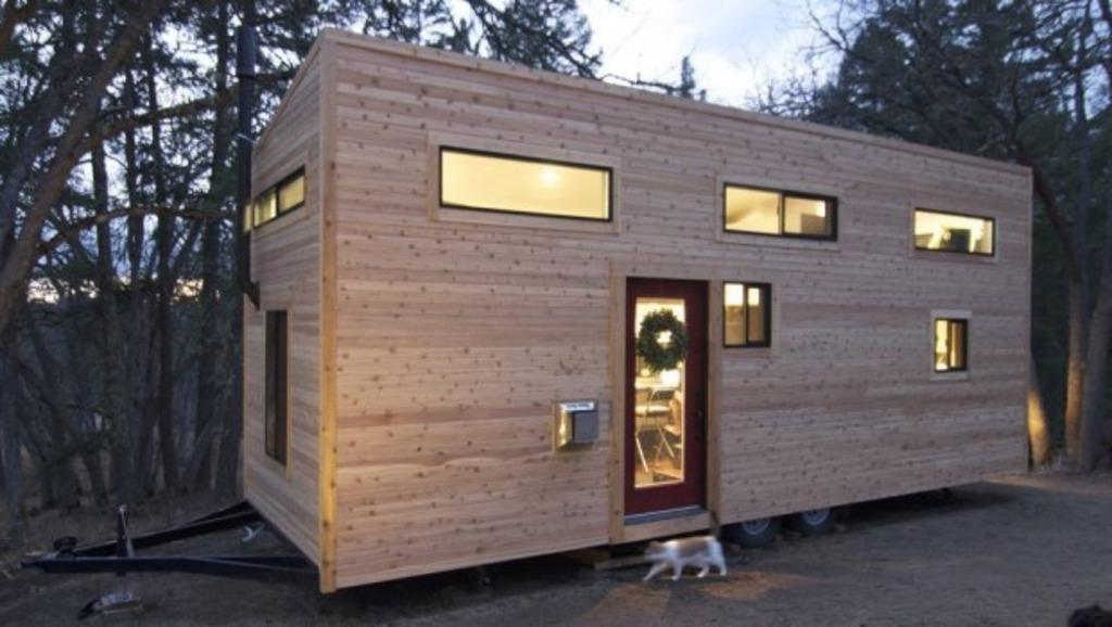 Tiny House Trend Der Neue Architektur Traum Baden