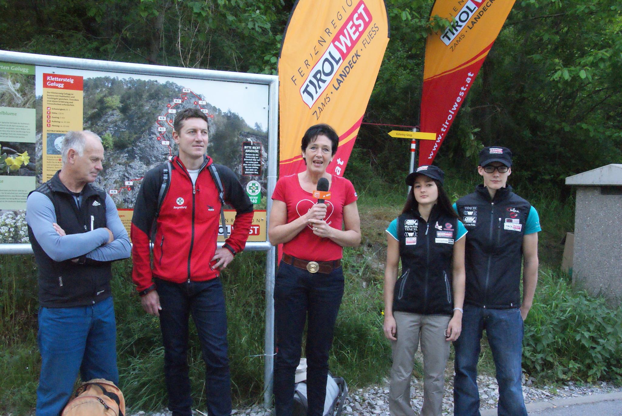 Klettersteig Zams : Alpspitze klettersteig via ferrata