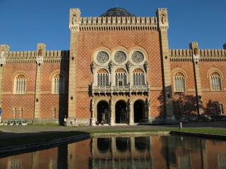 Das Heeresgeschichtliche Museum präsentiert sich am Nachmittag in seiner vollen Schönheit. Der maurisch byzantinischen Baustil kommt in diesem Nachmittagslicht voll zur Geltung. Foto Litscher Manfred