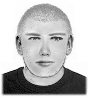 Dieser Mann wird gesucht: Er soll einer von vier Tätern sein, der das Lebensmittelgeschäft in Kirchberg überfallen haben soll.
