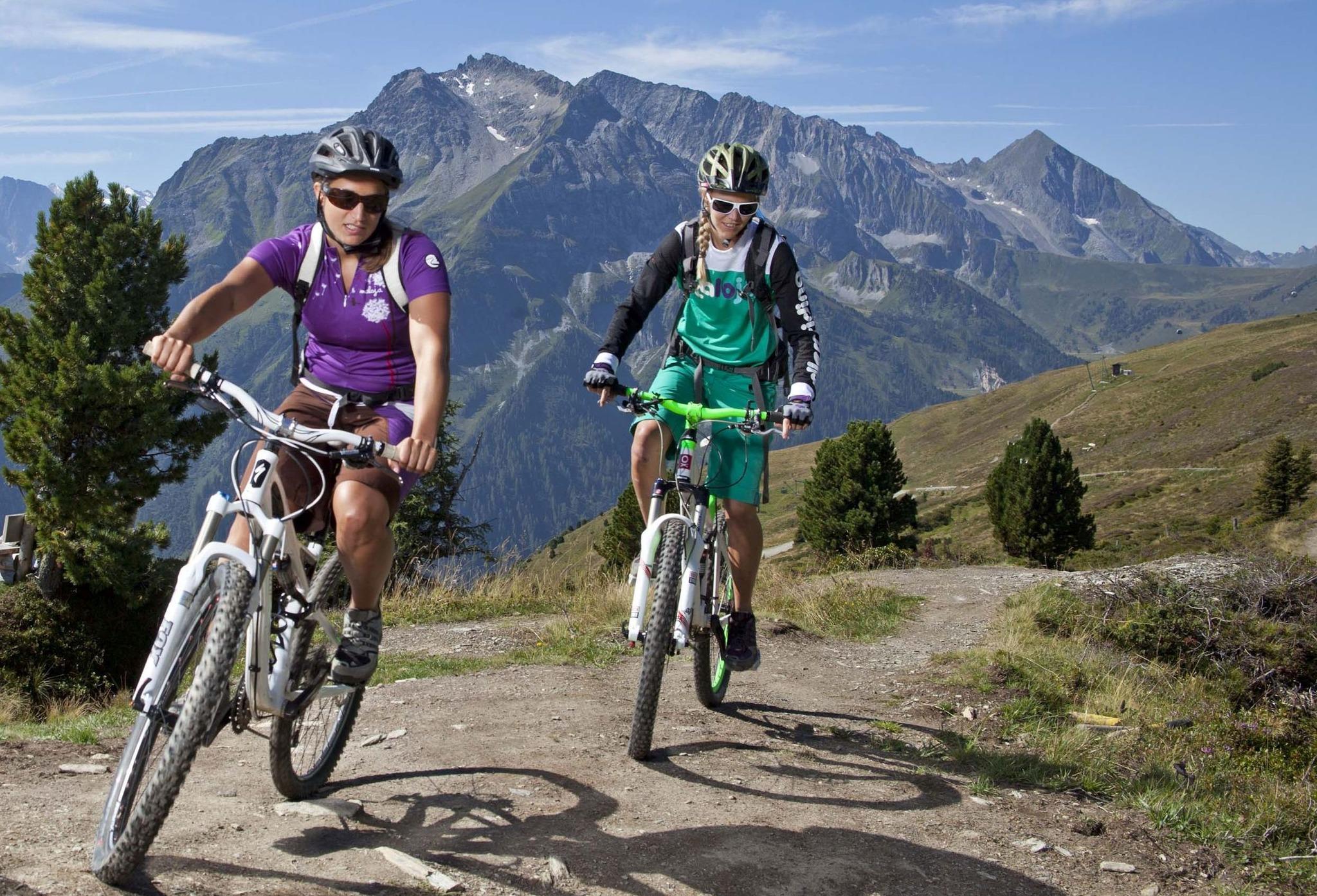 Mountainbike singletrail tirol