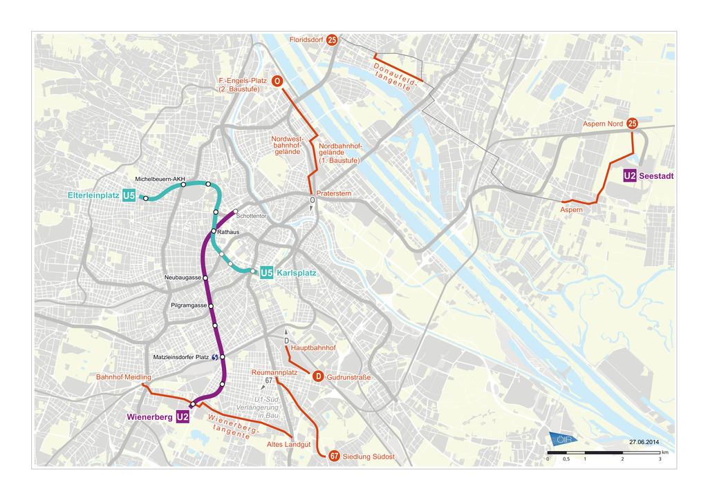 Jetzt Kommt Die U5 In Wien Innere Stadt